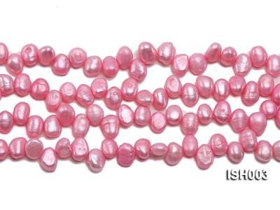 Wholesale 7x9mm  Side-drilled Cultured Freshwater Pearl String ISH003 Image 2