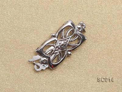 9*15mm Single-strand Sterling Silver Clasp SC014 Image 2