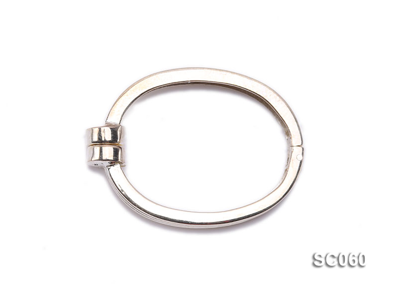 22*30mm Single-strand Magnetic Sterling Silver Clasp big Image 1