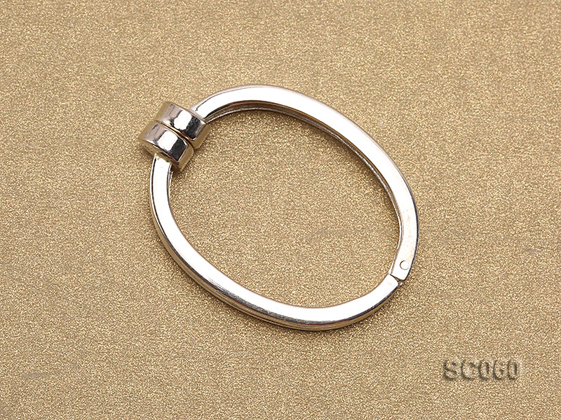 22*30mm Single-strand Magnetic Sterling Silver Clasp big Image 2