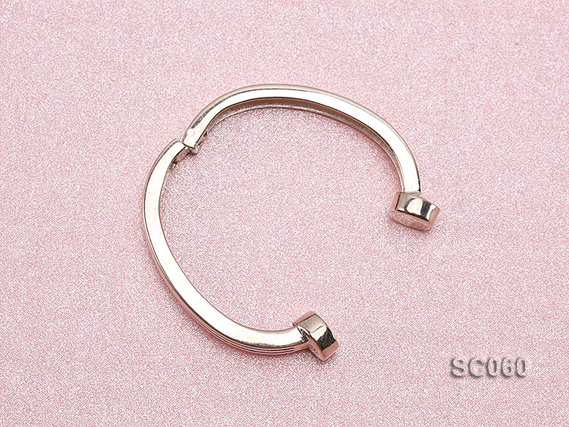 22*30mm Single-strand Magnetic Sterling Silver Clasp big Image 3