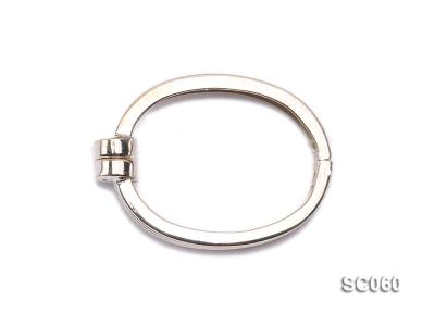 22*30mm Single-strand Magnetic Sterling Silver Clasp SC060 Image 1
