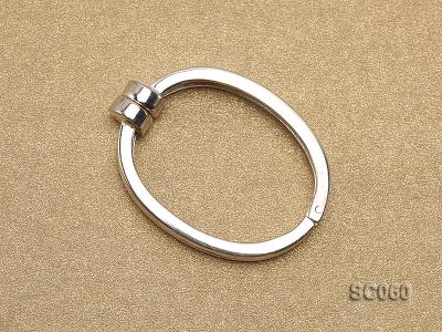 22*30mm Single-strand Magnetic Sterling Silver Clasp SC060 Image 2