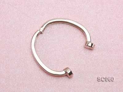 22*30mm Single-strand Magnetic Sterling Silver Clasp SC060 Image 3