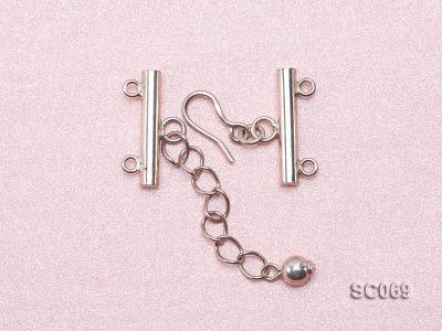 21mm Double-strand Sterling Silver Clasp SC069 Image 3