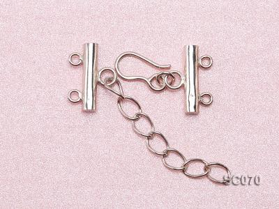 16mm Double-strand Sterling Silver Clasp SC070 Image 3