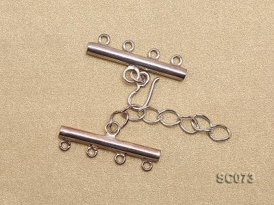 30mm Four-strand Sterling Silver Clasp SC073 Image 2
