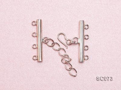 30mm Four-strand Sterling Silver Clasp SC073 Image 3