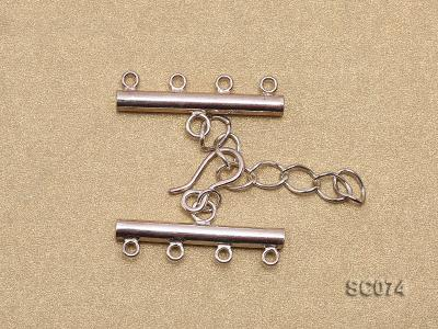 28mm Four-strand Sterling Silver Clasp SC074 Image 2