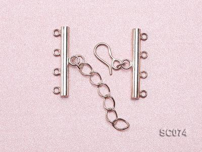 28mm Four-strand Sterling Silver Clasp SC074 Image 3