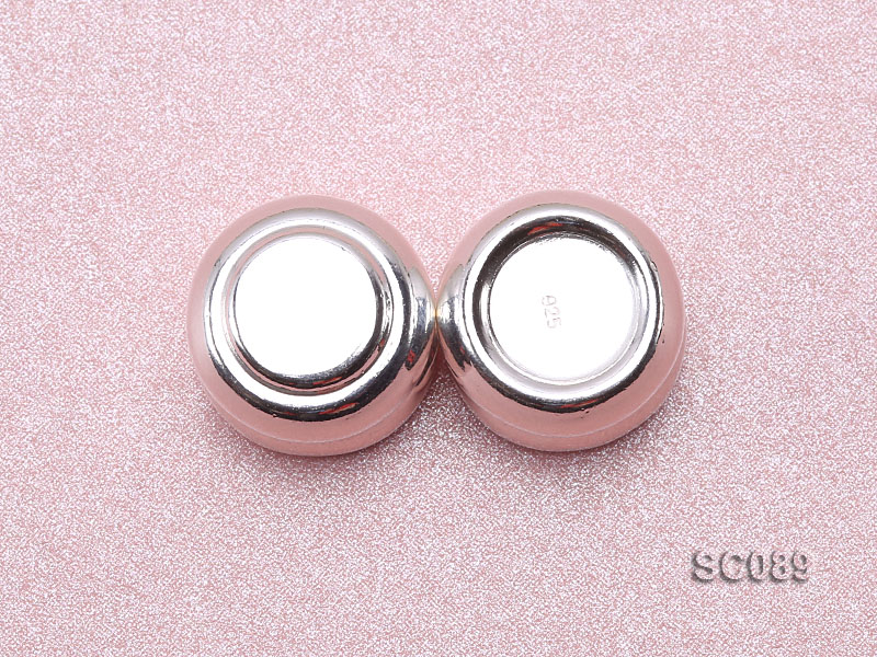 13.5*22mm Single-strand Magnetic Sterling Silver Clasp big Image 3