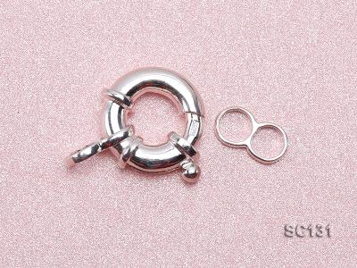 13mm Single-strand Sterling Silver Clasp SC131 Image 3