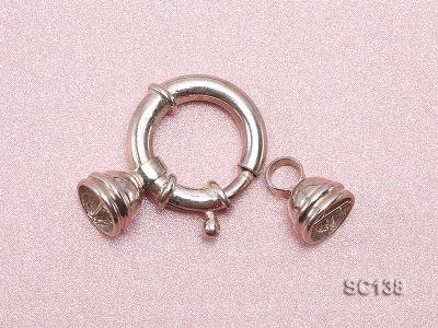 20mm Single-strand Sterling Silver Clasp SC138 Image 3