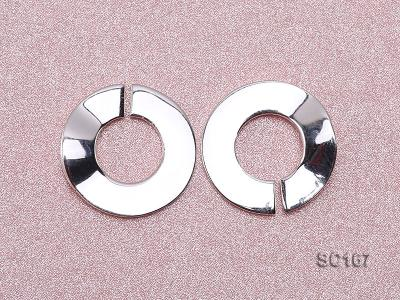 16*22mm Single-strand Sterling Silver Clasp SC167 Image 3