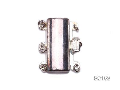 8*20mm Three-strand Sterling Silver Clasp SC169 Image 1