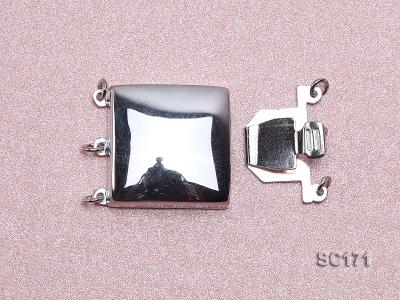 16mm Three-strand Sterling Silver Clasp SC171 Image 3