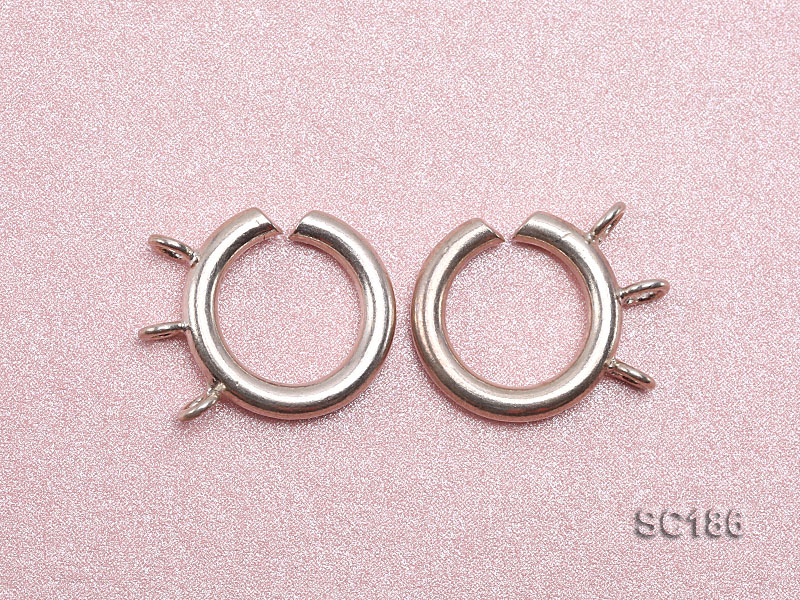 15mm Three-strand Sterling Silver Clasp big Image 3
