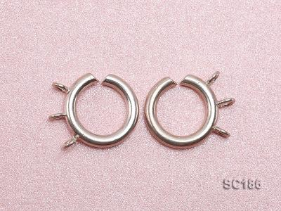 15mm Three-strand Sterling Silver Clasp SC186 Image 3