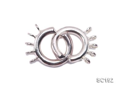 15mm Five-strand Sterling Silver Clasp SC192 Image 1