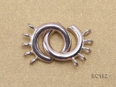 15mm Five-strand Sterling Silver Clasp SC192 Image 2