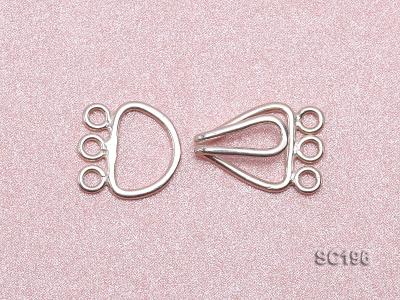 10*20mm Three-strand Sterling Silver Clasp SC196 Image 3