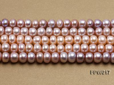 Wholesale 7.5x10mm Flat Freshwater Pearl String FPW017 Image 2