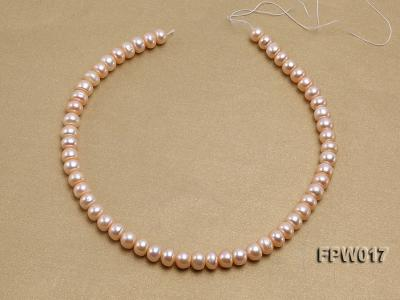 Wholesale 7.5x10mm Flat Freshwater Pearl String FPW017 Image 3