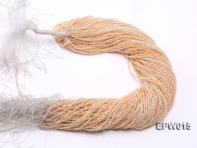 Wholesale 2.5x3mm  Rice-shaped Freshwater Pearl String EPW015 Image 4