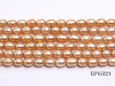 Wholesale 7X8.5mm  Rice-shaped Freshwater Pearl String EPW021 Image 1