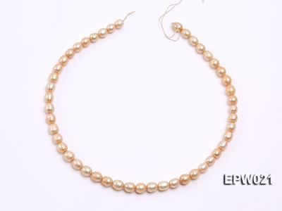Wholesale 7X8.5mm  Rice-shaped Freshwater Pearl String EPW021 Image 3