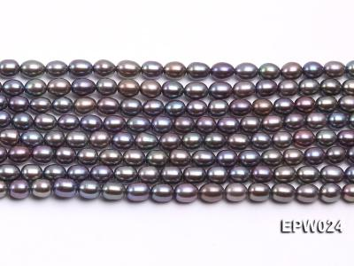 Wholesale 5X6.5mm  Rice-shaped Freshwater Pearl String EPW024 Image 1