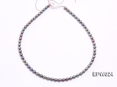 Wholesale 5X6.5mm  Rice-shaped Freshwater Pearl String EPW024 Image 3