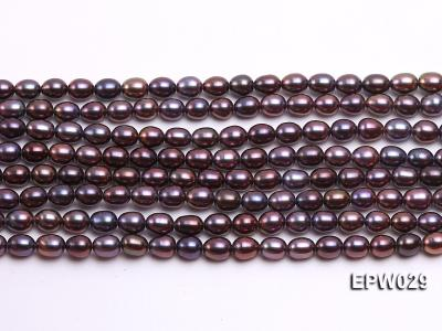 Wholesale 5.5X6.5mm  Rice-shaped Freshwater Pearl String EPW029 Image 1