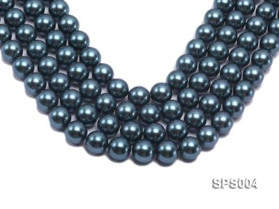 Wholesale 16mm Round Black Seashell Pearl String SPS004 Image 1