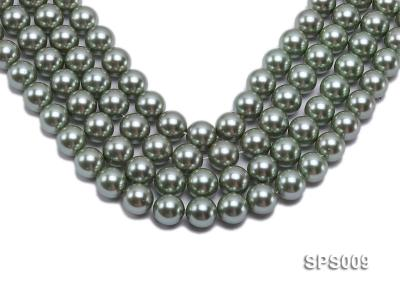 Wholesale 16mm Green Round Seashell Pearl String SPS009 Image 1