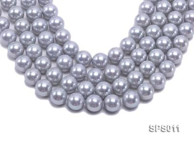 Wholesale 16mm Lavender Round Seashell Pearl String SPS011 Image 1