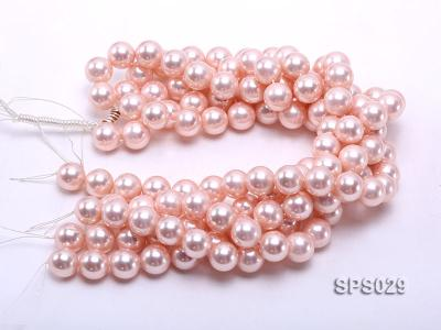 Wholesale 16mm Pink Round Seashell Pearl String SPS029 Image 3