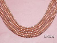 Wholesale & Retail 6-7mm Pink Round Freshwater Pearl String RPW036