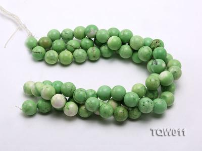 Wholesale 17mm Round Green Turquoise Beads String TQW011 Image 3