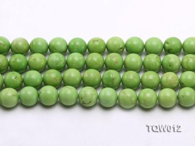 Wholesale 14mm Round Green Turquoise Beads String TQW012 Image 2