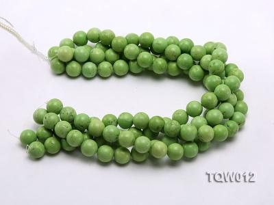 Wholesale 14mm Round Green Turquoise Beads String TQW012 Image 3
