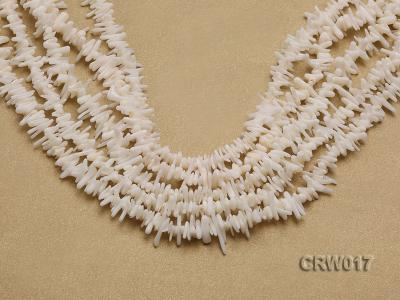 Wholesale 7-15mm Irregular Pink Coral Chips Loose String CRW017 Image 1