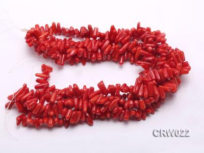 Wholesale 10-18mm Irregular Red Coral Chips Loose String CRW022 Image 3