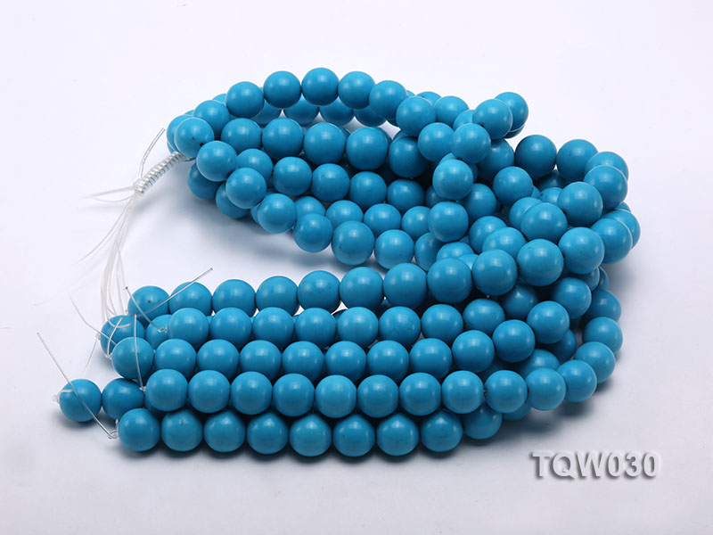 Wholesale 16mm Round Blue Turquoise Beads String big Image 3
