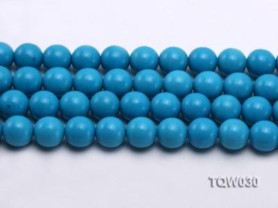 Wholesale 16mm Round Blue Turquoise Beads String TQW030 Image 2