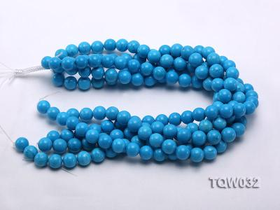 Wholesale 12mm Round Blue Turquoise Beads String TQW032 Image 3