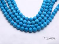Wholesale 10mm Round Blue Turquoise Beads String TQW036