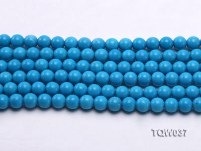 Wholesale 8.3mm Round Blue Turquoise Beads String TQW037 Image 2