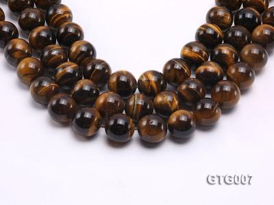 Wholesale 18mm Round Tiger Eye Strings GTG007 Image 1