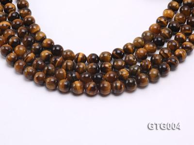 Wholesale 10mm Round Tiger Eye Strings GTG004 Image 1